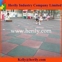 1000mmx 1000mmx 20mm Rubber playground Flooring/outdoor outdoor basketball court rubber floor tile