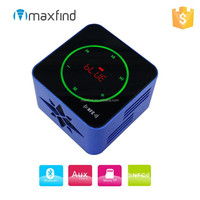 New design portable mini touch screen NFC bluetooth speaker