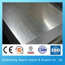 A large number of export 6mm thick galvanized steel sheet metal/galvanized color coated metal sheet