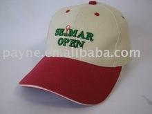 The Promo Plus Cotton Cap (Suede Puff)