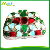 beaded clear india gold latest fashion women clutch bags