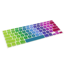 "USA Standard Rainbow Keyboard Protector Cover Skin Film For MacBook Air 13.3"" 15"" 17"""