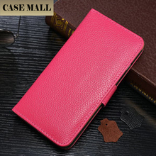 Casemall New Arrival Hot selling stand pu leather cell phone cases for iphone 6 plus
