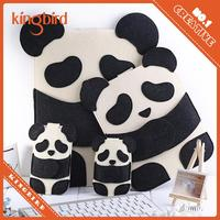 Felt Panda Pad Pocket Panda Cover Case for iPad