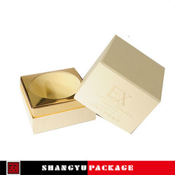 unique cardboard cosmetic box for false hair packaging