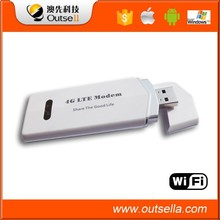 100mbps high speed 4g lte usb dongle with sim card slot