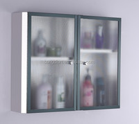 Simple design but widely welcomed stainless steel bathroom cabinet