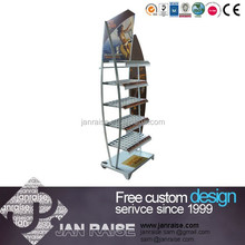 Sailboat shape display rack metal display stand OK-10021