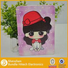 Cute Cartoon Kids love Leather Case Cover for ipad mini