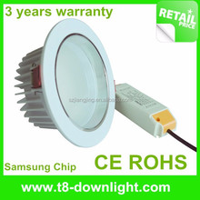 High lumen top quality mini led spot 4000k downlight housing LED down lighting