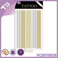 Yellow Fluorescent Self Adhesive Sticker Paper Roll,Best-Selling Metallic Tattoo Sticker,Printed Rayon Fabric