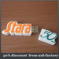hot selling 8GB pvc usb flash drives