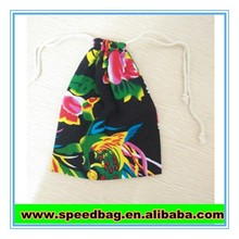 Popular Chinese style small drawstring pouches small pouch