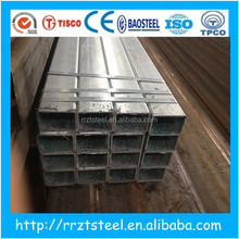 pre galvanized steel rectangle hollow section & hot dipped galvanised steel pipe