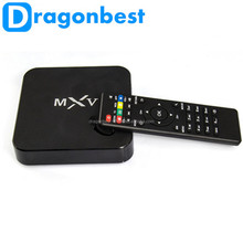 Newest Arrival Amlogic S805 Quad Core Tv Box Mali 450 Mxv Usb2.0 Kodi14.2 802.11B/G/N Wifi 2.4Ghz Wifi Smart Android Ott Tv Box