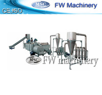 best selling PP PE waste plastic film recycling line pe film washing plant