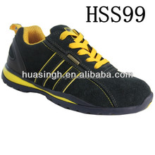 UK popular shock resistant men/women safety trainers/ running sport shoes