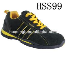 UK popular shock resistant men/women safety trainers/ running sport shoes