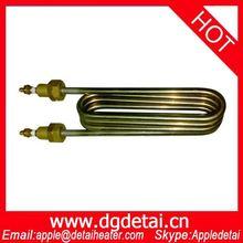 Tubo del calentador de agua del Cobre, elemento de calefacción del cobre
