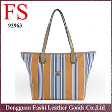 fashionable custom women wholesale lastest design nylon double shoulder bags