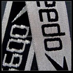 2015 customized logo jacquard elastic band