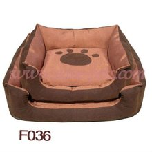 F036 Low MOQ Dog Bed For 2012 New Design Pet Products Factory
