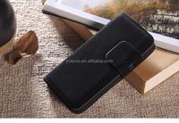 Hot sale flip wallet case leather case for iphone 5 luxury booklet case