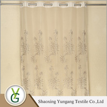 Ready made curtain supplier Attractive Factory wholesale types of curtain fabrics
