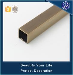 Foshan KSL high quality U-shaped stainless Metal Tile Trim