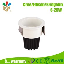 10W led ceiling light Dimmable COB IP20 baked white paint recessed or surface mounted round led ceiling light
