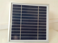 Mini Solar Panel with Aluminum Frame,High Efficient PV Panel,PV Module,Small Solar Panel with Low MOQ,3w