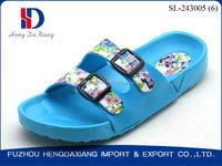 Women's Adjustable Twill Sandy Beach EVA Sandals and Slippers
