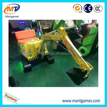 Kids electric toys excavator game machine mini diggers for sale