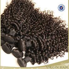 wholesale raw 100% virgin unprocessed indian remy hair deep kinky curly hair