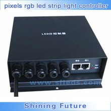 Load capacity 100,000 pixels rgb led strip light controller;on-line controller H801RA