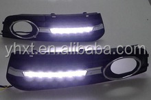 Car accessories & Auto parts for hyundai accent'11,hyundai accent auto led daylight,led lamp made in china