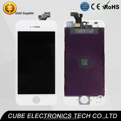 """New back enough stock!!! For iPhone 5S 4"""" inch LCD Display Screen+Touch Digitizer Replacement Assembly White Black"""