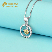 925 sterling silver statement necklace pendant wholesale jewelry
