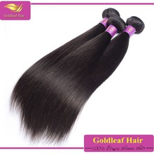 Brazilian 100 human hair weft and wavy weave la extension del pelo