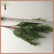 Artificial cypress tree branch wholesale for making cypress tree