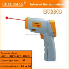 China high quality lowest price infrared thermometer accuracy DT8013