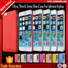 2015 Best Selling for iphone 6 ultra thin case, mobile phone case for iphone 6