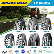 GSO certification Good price and high quality 1200R24 China truck tyre, 12.00R24 truck tyre,