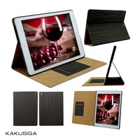 KAKU 2015 Hot Sale Wood Grain wooden leather case for ipad mini