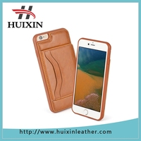 Protective leather wallet cover case with stand feature and credit card holders wallet case for Apple iPhone 6 plus