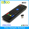 Wholesale price b2go mx3 2.4GHZ universal remote control for akai tv box