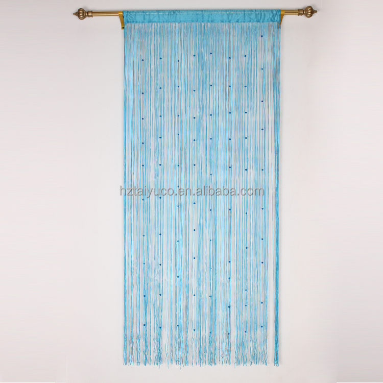 Italy Style Metal Beaded Door String Curtain - Buy High Quality Metal ...