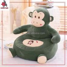 European style soft animal print single sofa for kids