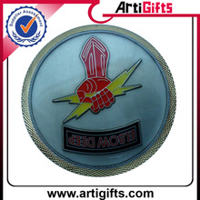 Made in china cheap round military coin
