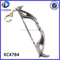 Personalzied Warcraft Weapons Bows keychain